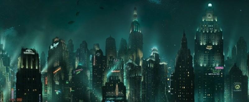 Bioshock Rapture skyline