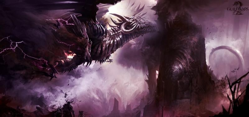 GW2 Dragon Concept Art