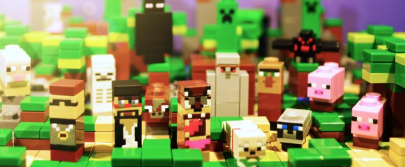 LEGO Minecraft Mobs
