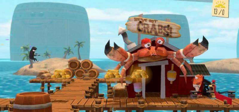 Bit Trip Runner 2 Crabs