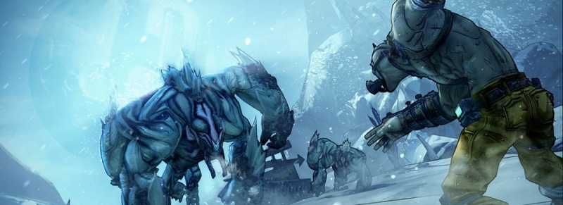 BL2 Krieg the Psycho Snow
