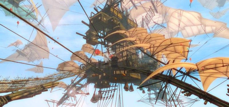 GW2 Bazaar Ship