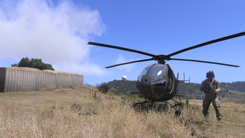 Arma 3 Helicopter
